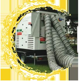 e20g img1 E 20G : Centrale mobile de régulation thermique
